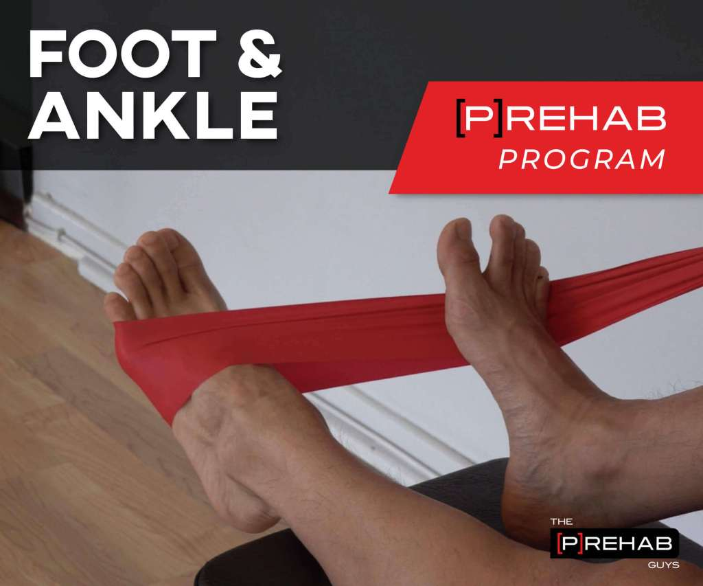 exercises to fix flat feet foot ankle prehab program prehab guys