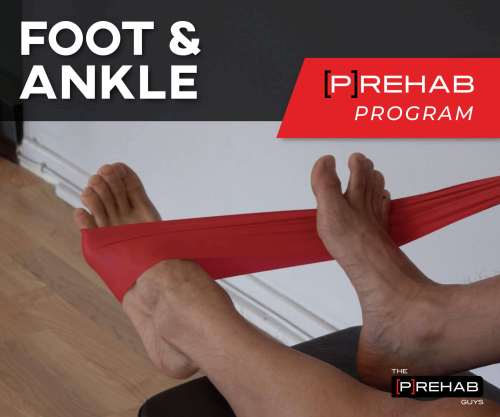 foot and ankle prehab program the prehab guys why rice/rest doesn't work