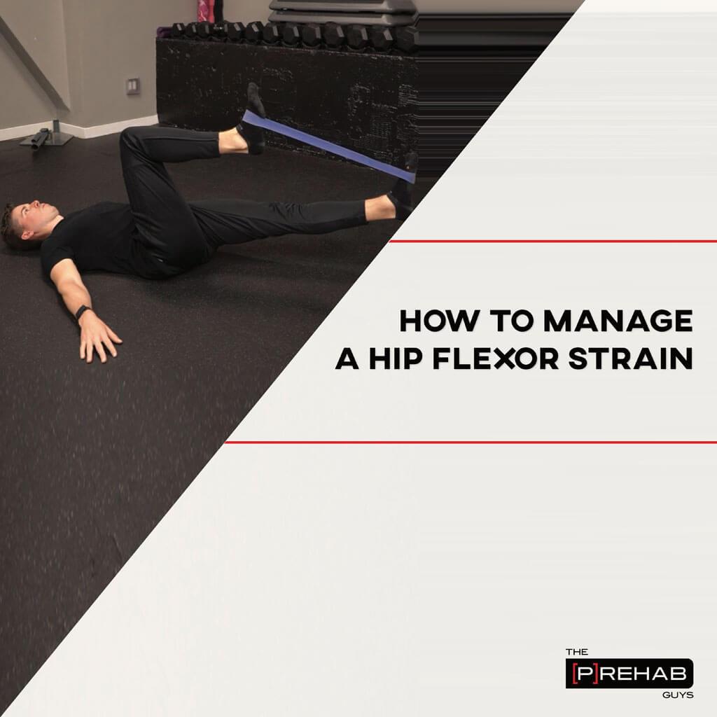 Hip Flexor Strain Workout