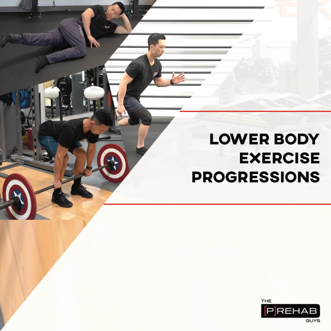 lower body exercise progressions workout the prehab guys