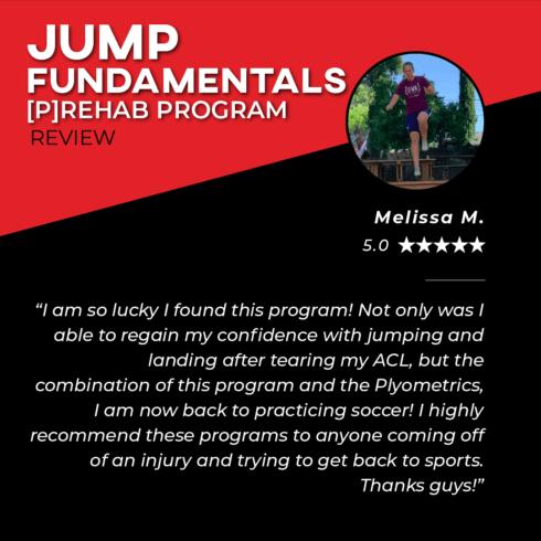 TPG Testimonies - Jump Fundamentals - Melissa M