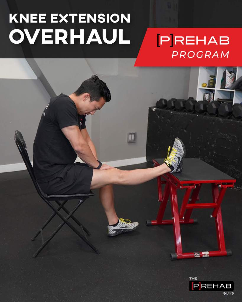knee extension overhaul prehab program