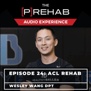 knee extension machine acl rehab wesley wang prehab guys audio experience