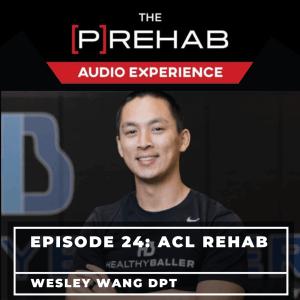 knee extension machine acl rehab wesley wang prehab guys audio experience