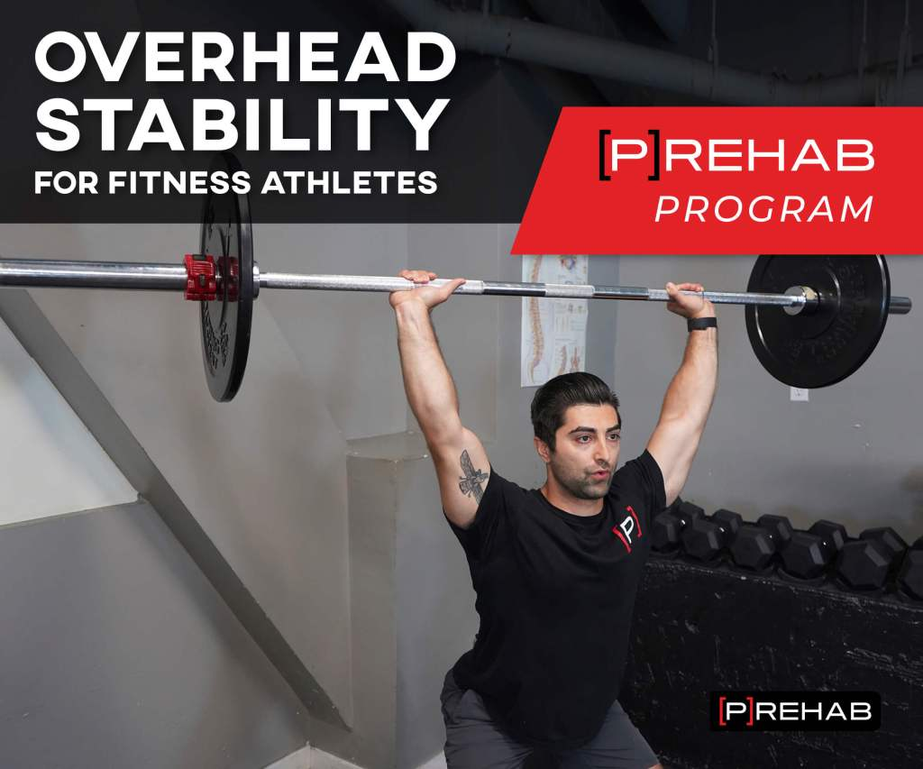 OVERHEAD STABILITY FOR FITNESS ATHLETES