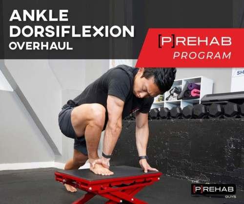 ankle dorsiflexion program plantar fasciitis the prehab guys