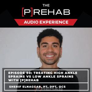 treating ankle sprains the prehab guys