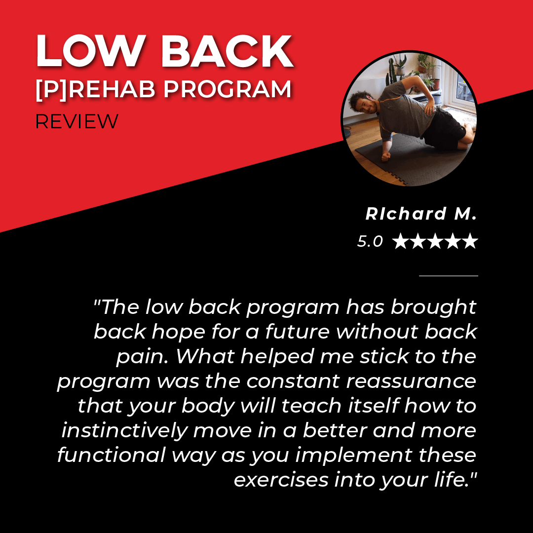 TPG Testimonies - Low Back - Richard M