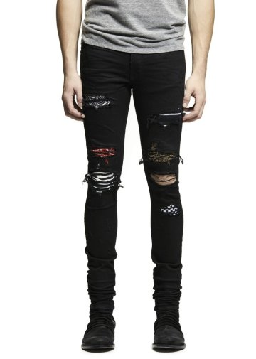 AMIRI SS17 Art Patch Jean