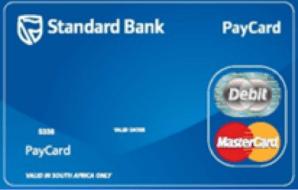 Standard Bank Prepaid Easy