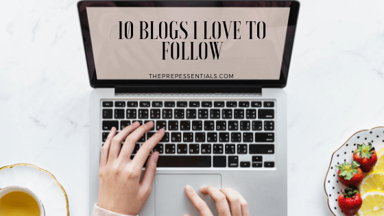 10 Blogs I Love to Follow