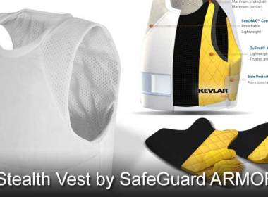 A couple of weeks back I was contacted by SafeGuard ARMOR asking me if I would like to review one of their bulletproof vests. Not being one to turn down an opportunity to test some equipment that could be of use to Preppers I jumped at the chance. A few short days later, the FedEx man dropped a nice black bag on my door. Inside was SafeGuard's Stealth vest. The Stealth is designed to be concealable and worn under clothes. This would be great for undercover police, bodyguards or you. That's right, the average every day prepper could have a use for body armor and this may be a good option to consider if you are in the market for a bulletproof vest.