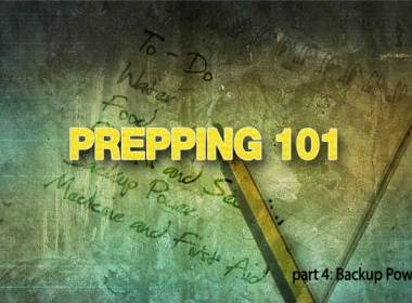 This is the fourth in a series for the beginning prepper on how to get started Prepping. In part one of this series we covered defining your priorities and making sure you have a sufficient store of water. The second article covered planning for long term food storage and selecting the best firearm for self-defense. In the third installment, we dealt with financial security and having appropriate medical supplies to treat basic injuries. The fourth installment went a little longer than I anticipated so I will deal with Home Security and Communications in the next one.