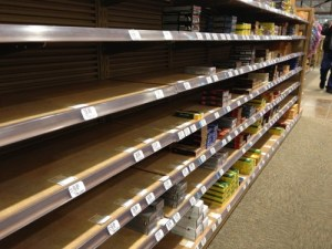 Ammo Shortage in most stores.