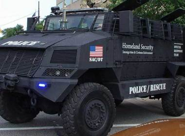 """We all have witnessed the militarization of our local police forces over the years and most of you have probably felt a growing sense of doom. What used to be a man in a uniform you could depend on to at least care and try to """"protect and to serve"""", has turned into a quasi military goon who shoots first and then asks questions. This trend stinks and you have to add this on top of the giant steaming pile that already lingered from countless other movements the government has made in the face of the American people. There have been numerous posts, articles and hand wringing associated with your friendly neighborhood SWAT teams and how they are increasingly used to perform basic law enforcement tasks. I am not going to preach about how I agree that this slide into a militarized mindset of these departments and agencies is dangerous; well, at least not in this post. What I did want to talk about briefly is the latest escalation it seems in the war between law enforcement and the regular citizens. The most recent upping of the ante comes to us in the form of surplus military trucks called MRAP's that the government is literally giving away to anyone who seems to want one. Everyone, that is except you and me."""