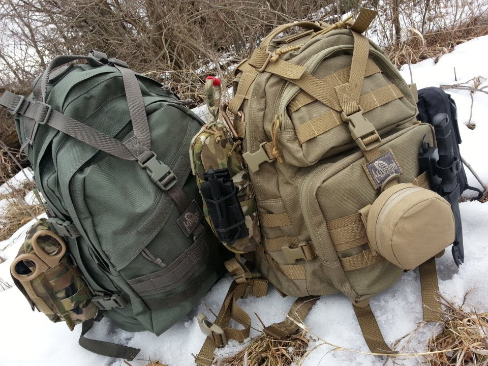 Maxpedition makes excellent get home bags.