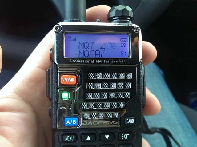 Baofeng makes a great, affordable radio for preppers.