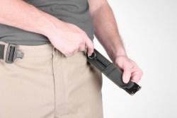 S.O. Tech RSB-L-BLK Riggers SERE Belt - Stash pocket allows you to hide escape tools