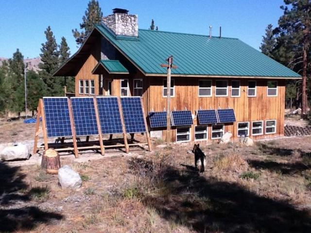 Mounting Solar panels on roofs or moveable panels allow for easy access for maintenance.