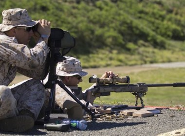 """Though another piece of expensive, relatively speaking, gear to drag along, a spotting scope has no match when it comes to observing the world that surrounds you. Most often seen at rifle ranges, most ranges rent them to shooters, as a tool for """"sighting in"""" either a new rifle or a newly scoped rifle."""
