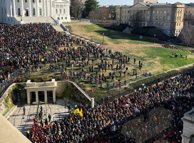 After weeks of preparation, thousands of gun-rights supporters, including leaders from the Virginia Citizens Defense League (VCDL) and Gun Owners of America are gathering at Virginia's state capitol square for Lobby Day.