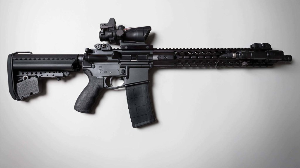 AR-15 always makes the list for one of the best prepper guns