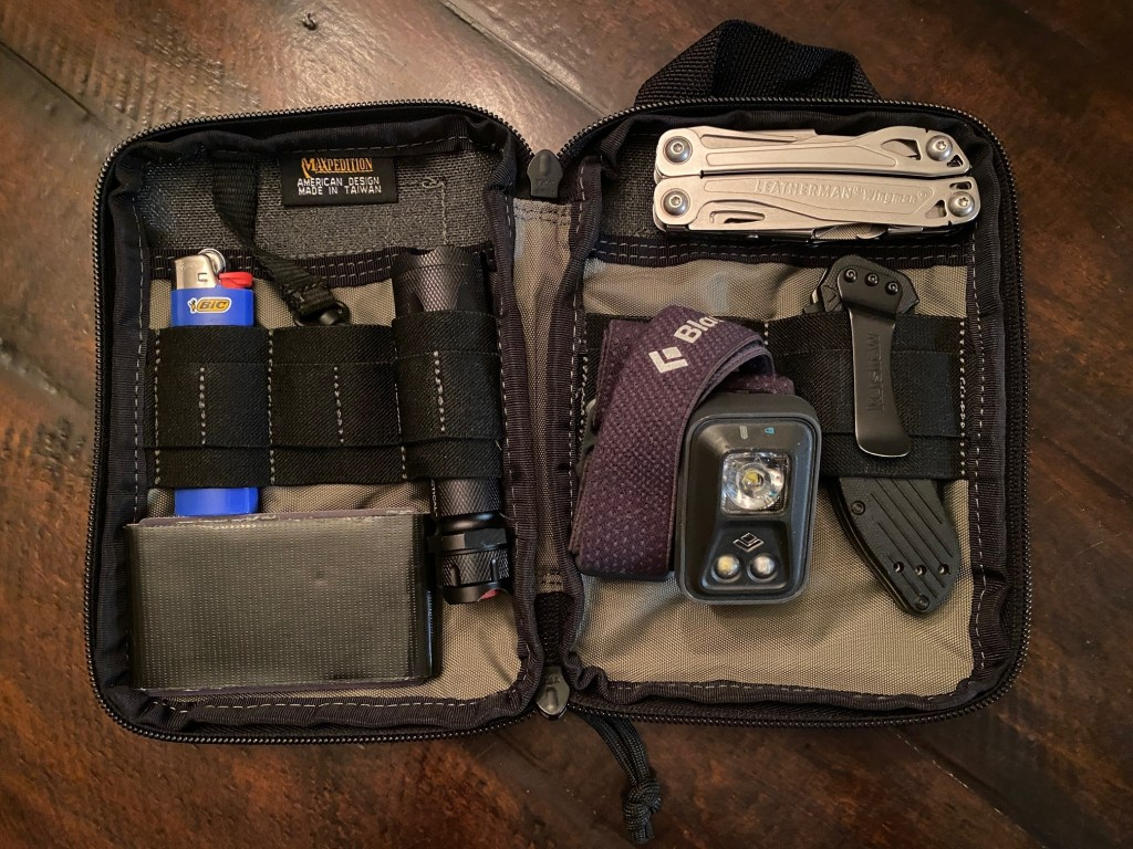 This Maxpedition Organizer makes a great pouch for your everyday carry items.
