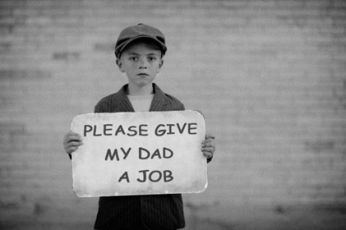 employment in an economic collapse