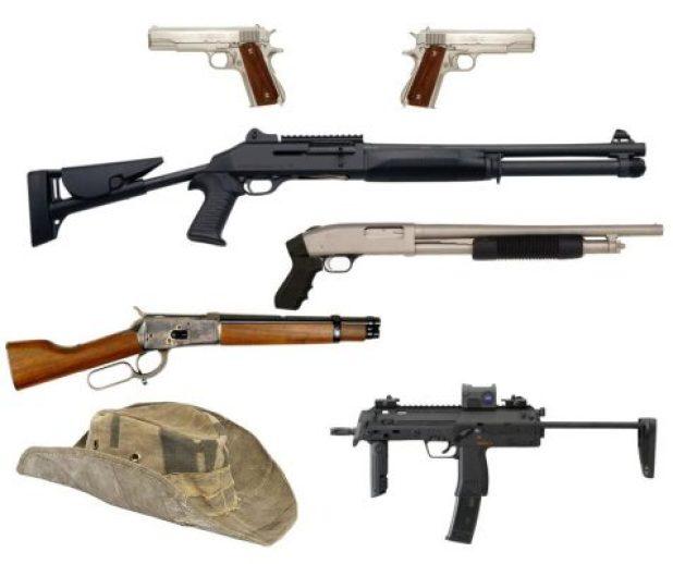 Zombieland guns