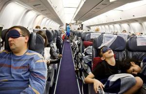 prepare body for long flight