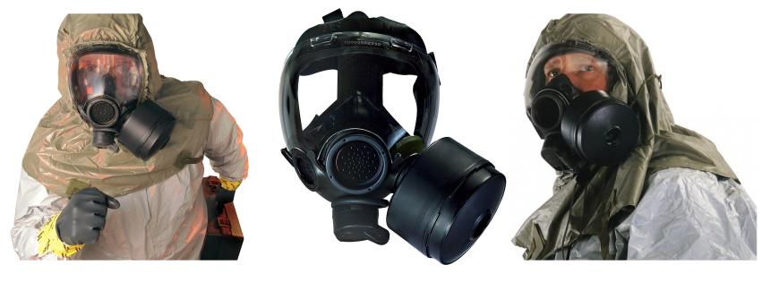 MSA gas mask