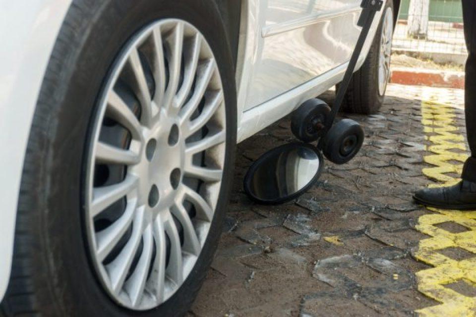 Bulletproof Car Floor