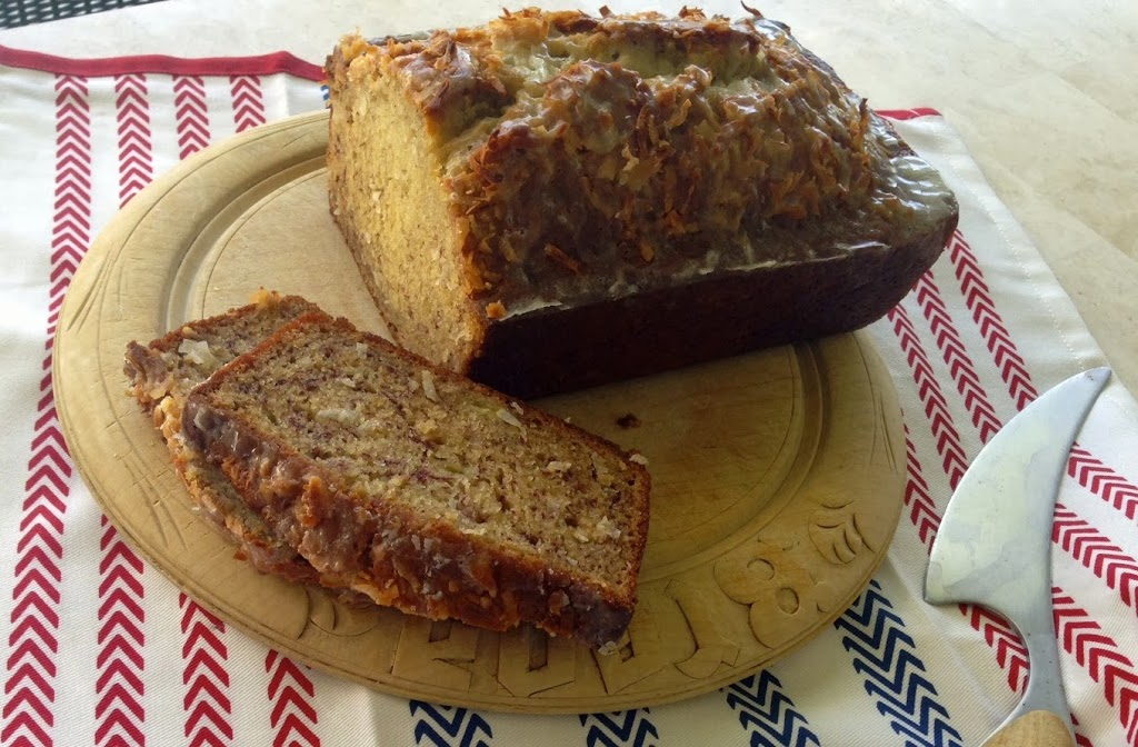 Coconut Banana Bread With Lime Glaze By Cooking Light The