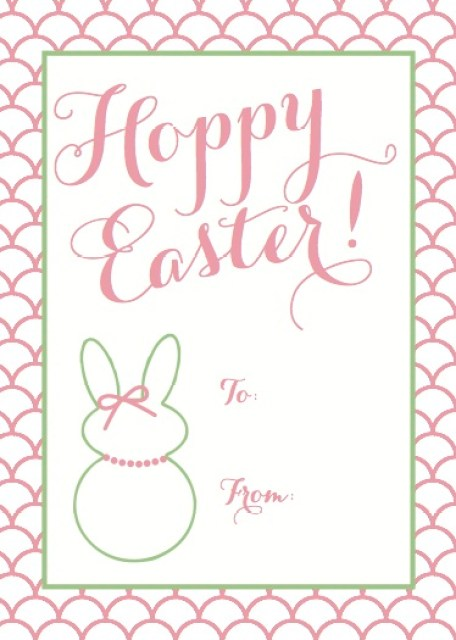 Easter gift tag printable the preppy hostess to view even keels etsy store check out httpetsy shopevenkeeldesign negle Choice Image
