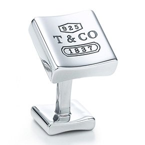 Tiffany 1837 Square Cufflinks
