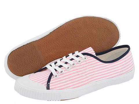 Tretorn Pink & White Seersucker