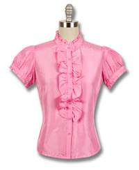 Goody\'s Clothing Ashley Judd Silk Blouse