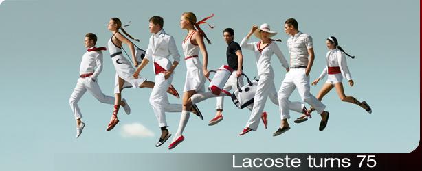 Lacoste 75th Anniversary