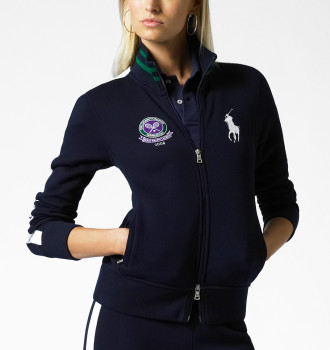 Polo Ralph Lauren Wimbledon Fleece Track Jacket