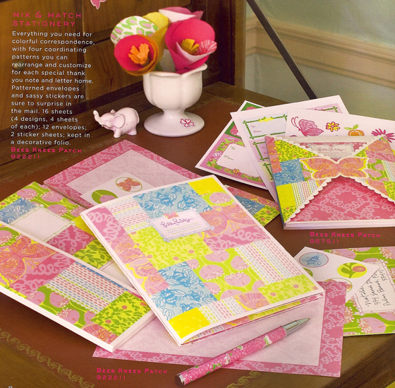 Lilly Pulitzer Sationery at PreppyPrincess.com