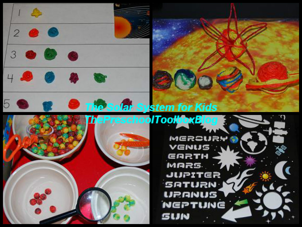 Solar System Activities For Kids The Preschool Toolbox Blog