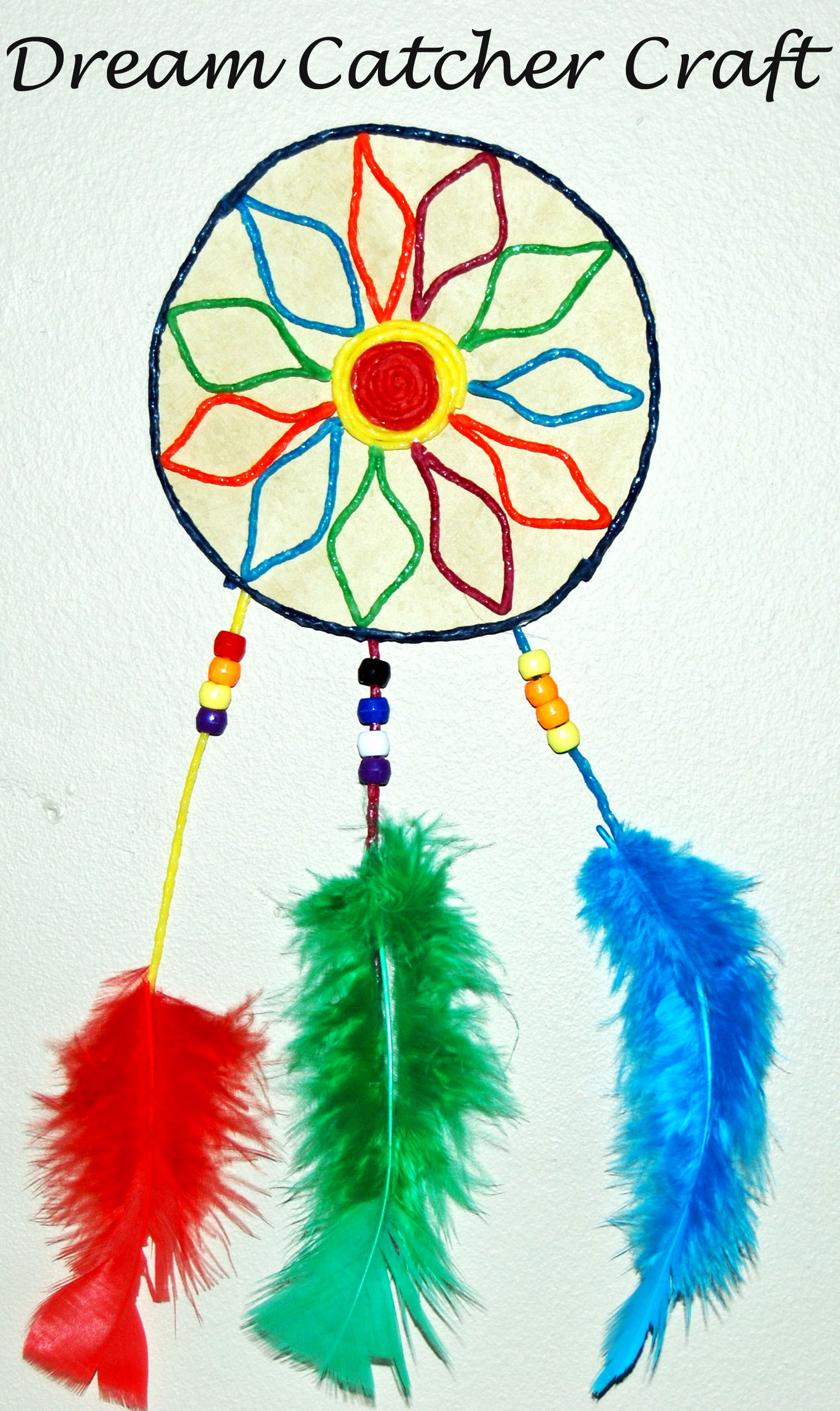 Ws Dream Catcher Craft For Kids The Preschool Toolbox Blog