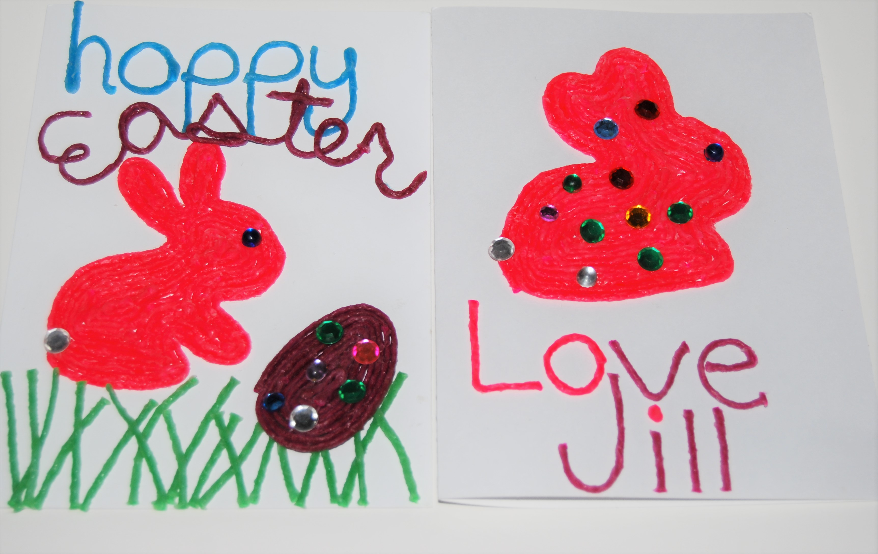 3d Easter Cards And Crafts For Kids The Preschool