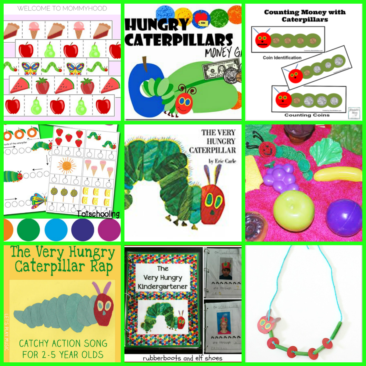 Eric Carle Theme And Author Study Activities For Preschool The Preschool Toolbox Blog