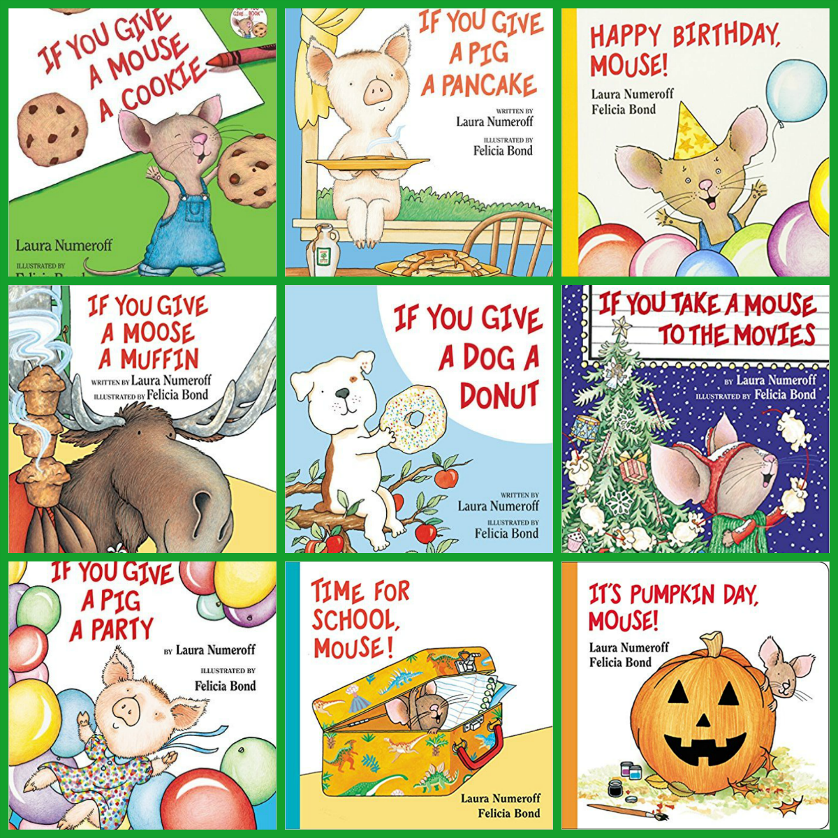Laura Numeroff Books For An Author Study For Preschool And