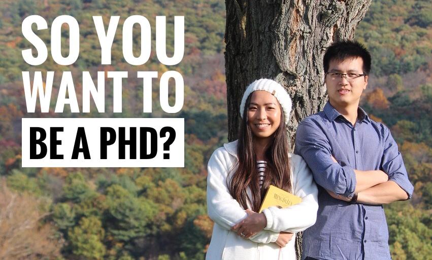 Chúng tôi đã apply và học tiến sĩ như thế nào? (Phần 1)