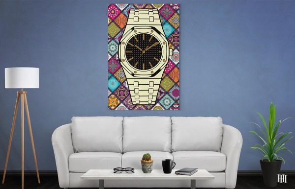 colour bg audermars piguet canvas wall gallery wrap house
