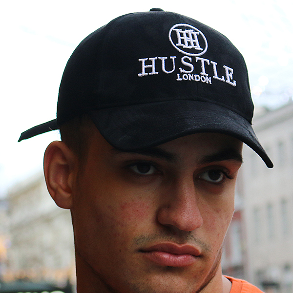 the presidential hustle black suede hats cap2