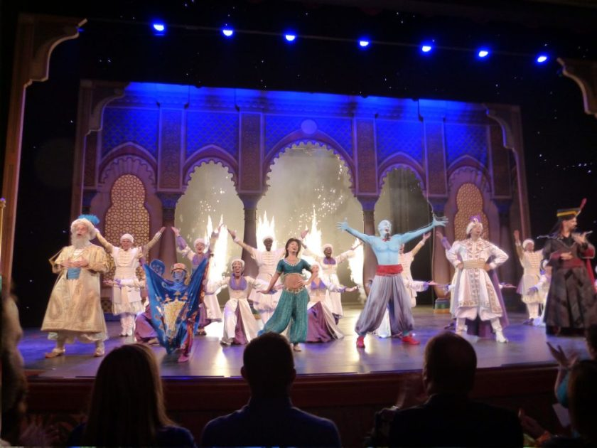 Disney Cruise Stage Shows