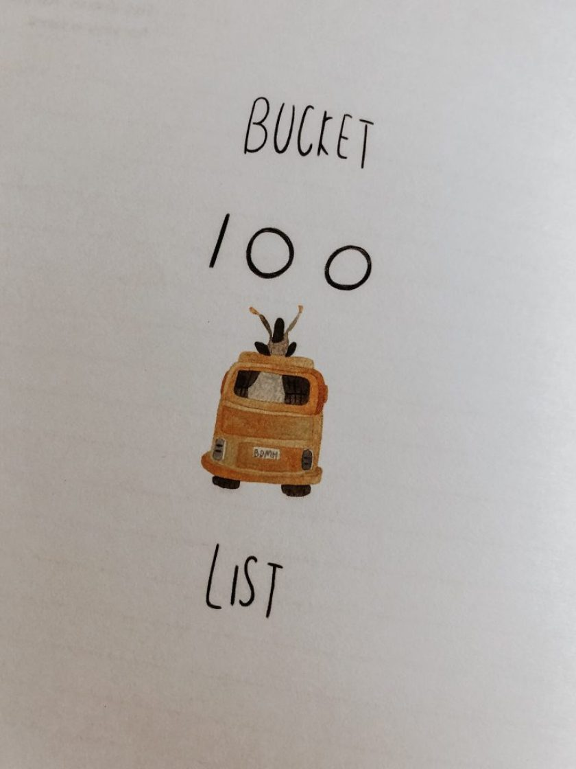 100 bucket list things